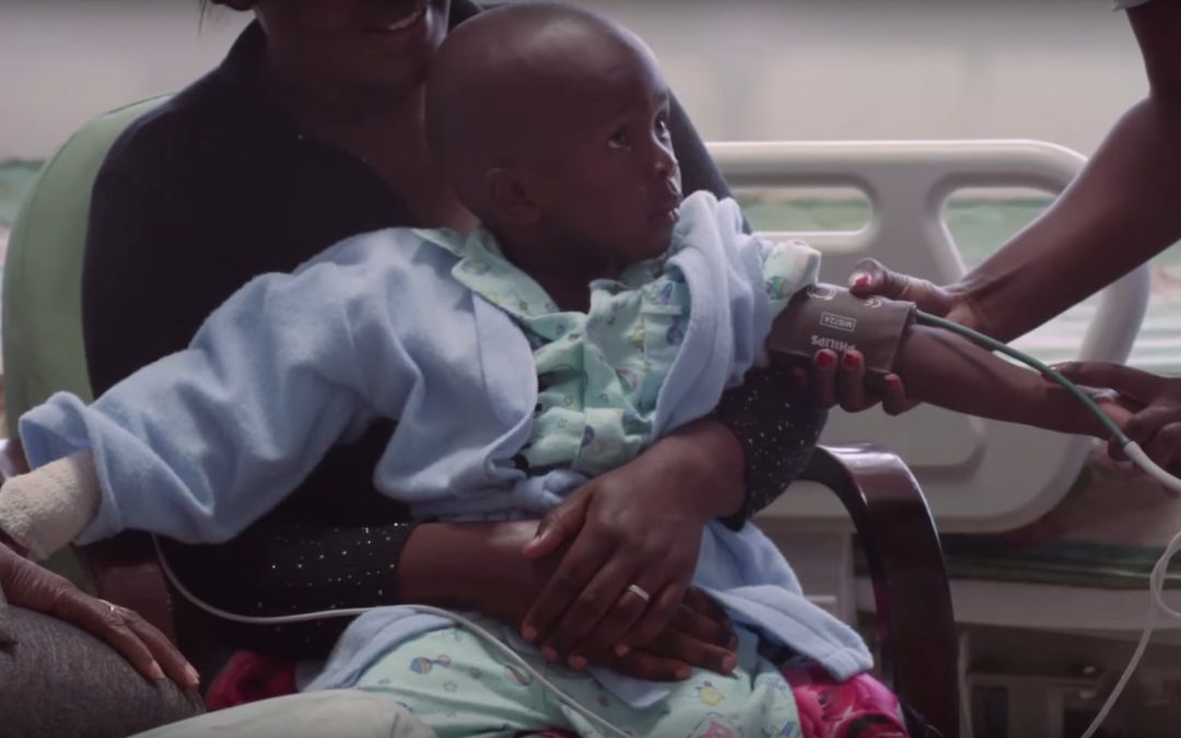 Hoe Philips en UNICEF samenwerken tegen kindersterfte