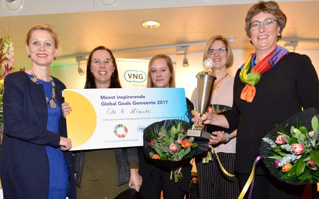 En de meest inspirerende Global Goals gemeente in Nederland is…