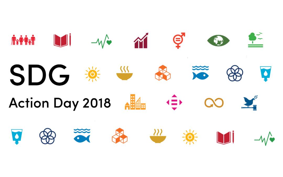 De toekomst dichtbij op de SDG Action Day