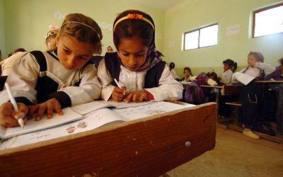 Negen van de tien kinderen gaan naar school, maar vergeet de kwaliteit niet
