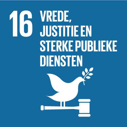 SDG 16 Alliantie - SDG-icon