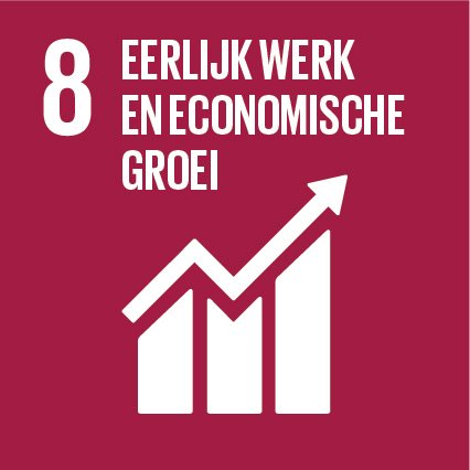 SDG 8 Alliantie - SDG-icon