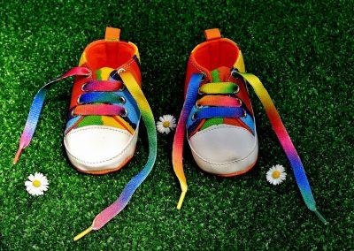 Schoentjes in SDG kleuren