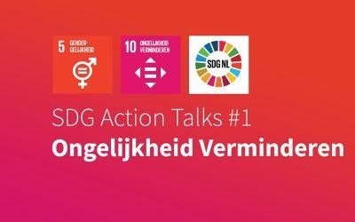 Eerste SDG Action Talk 1 september