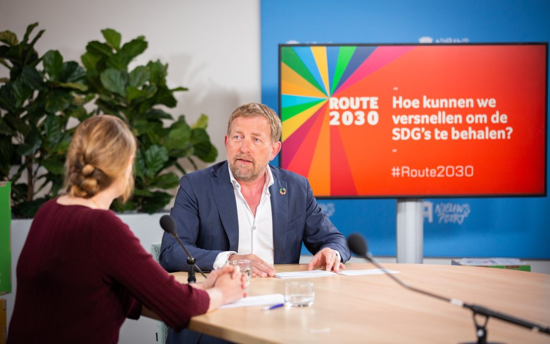 """""""Een regeerakkoord zonder de SDG's als kompas accepteren we niet"""""""