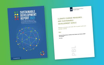 Publicatie SDR2021 en het PBL rapport over klimaatverandering en de SDG's